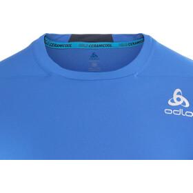 Odlo Ceramicool Pro Koszulka do biegania z krótkim rękawem Mężczyźni niebieski